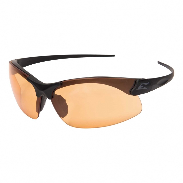 Edge Tactical Safety Eyewear, Sharp Edge, matt Schwarz, antikratzbeschichtet, beschlagefreie Tiger`