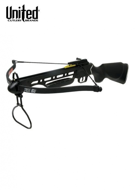 Recurve-Armbrust Avalanche, 150 lbs, Schwarz