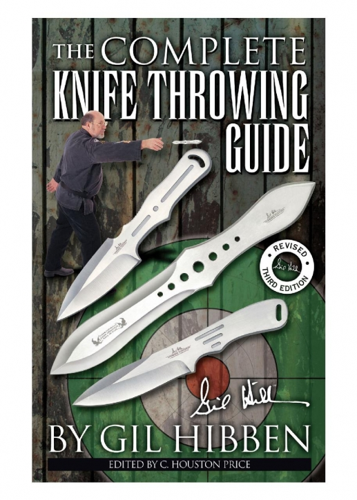 Buch: Gil Hibben - The Complete Knife Throwing Guide