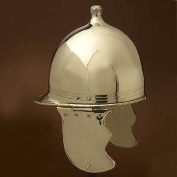 Republikanischer Montefortino Helm, Typ - A -, Messing