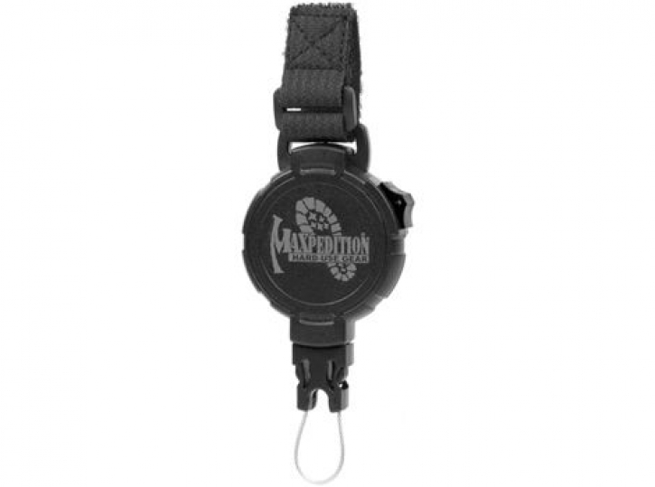 Tactical Gear Retractor - Large - Strap (Black)