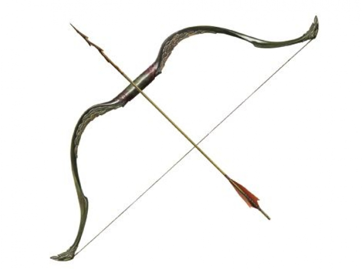The Hobbit: Tauriel Elven Bow And Arrow