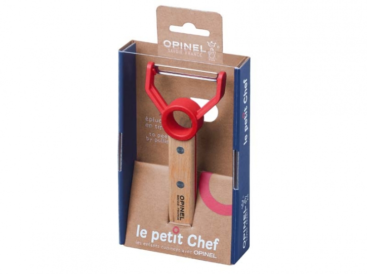 Opinel Le Petit Chef Sparschäler, rostfrei