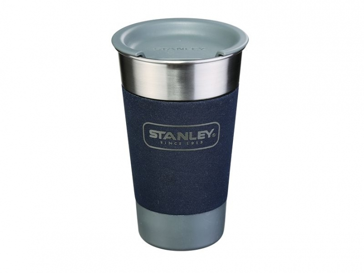 Stanley Adventure CAMP PINT, 0,473 Liter, 18/8 Edelstahl, navy blau