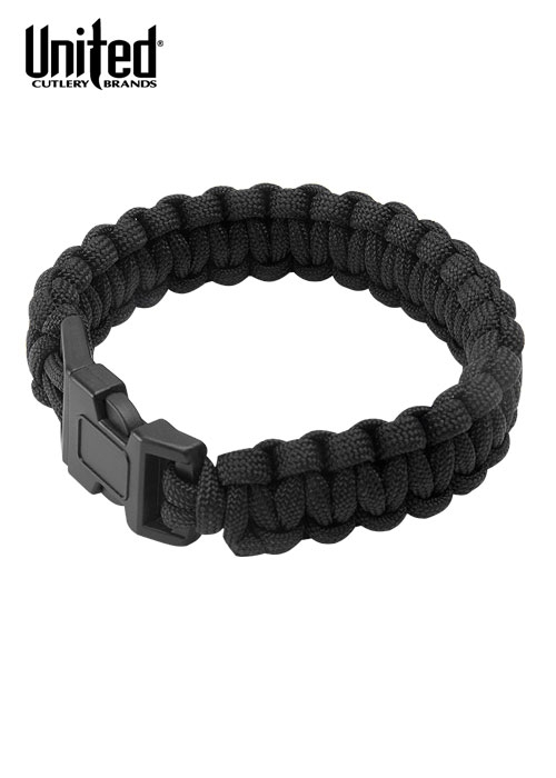 Elite Forces Survival-Armband aus Paracord, versch. Farben, Farbe rot camo