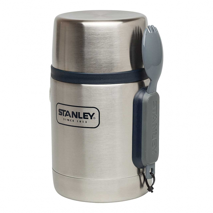 Stanley Adventure Vakuum Food Container, 532 ml, 18\8 Edelstahl, Vakuum-Isolation, Essbesteck, Klei