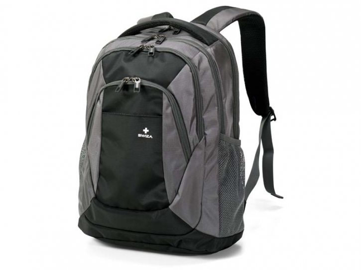 SWIZA Rucksack Aulus, Ripstop Polyester, 210 D,, PU Polyester, Griff, Rückensystem, Tabletfach, Vol