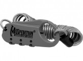 Steel Cable Lock Foliage Green